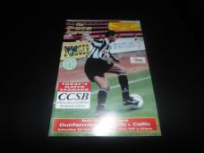 Dunfermline Athletic v Celtic, 1997/98